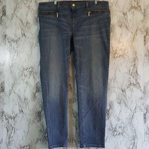 Michael Kors Izzy Skinny Jeans 16W 2J65